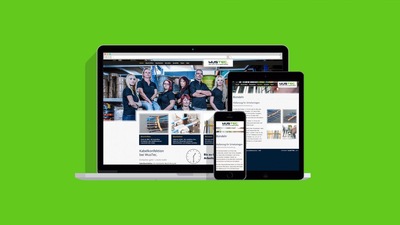 Wustec-Webseite